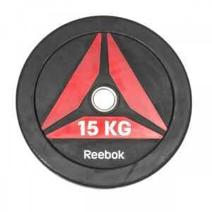 Reebok Functional Bumper Plate DELTA Vægtskive 15kg