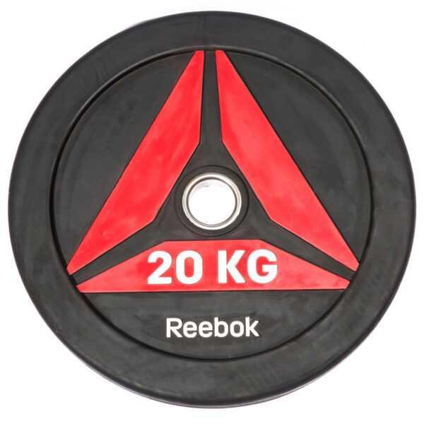 Reebok Functional Bumper Plate DELTA Vægtskive 20kg
