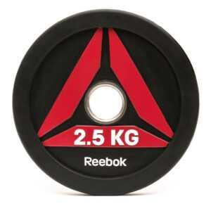 Reebok Functional Bumper Plate DELTA Vægtskive 2,5kg