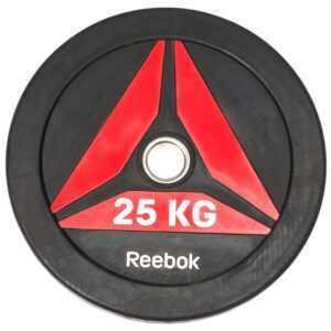 Reebok Functional Bumper Plate DELTA Vægtskive 25kg