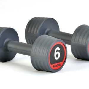 Reebok Gummi Håndvægte 6kg (2 stk.)