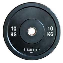TITAN LIFE Bumper Plate Gummi 10kg