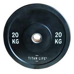 TITAN LIFE Bumper Plate Gummi 20kg