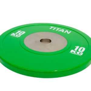 Titan BOX Elite Bumper Plate Vægtskive 10kg