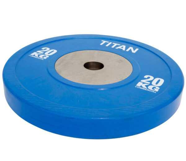 Titan BOX Elite Bumper Plate Vægtskive 20kg