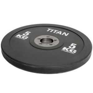 Titan BOX Elite Bumper Plate Vægtskive 5kg