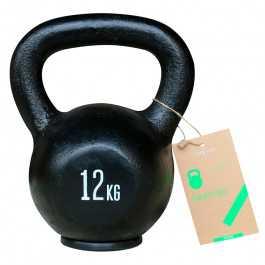 Titan LIFE Kettlebell 12 kg. (Støbejern)