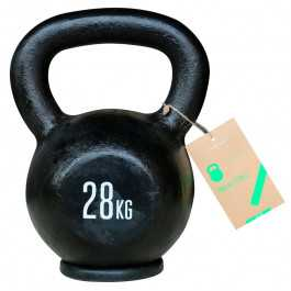 Titan LIFE Kettlebell 28 kg. (Støbejern)