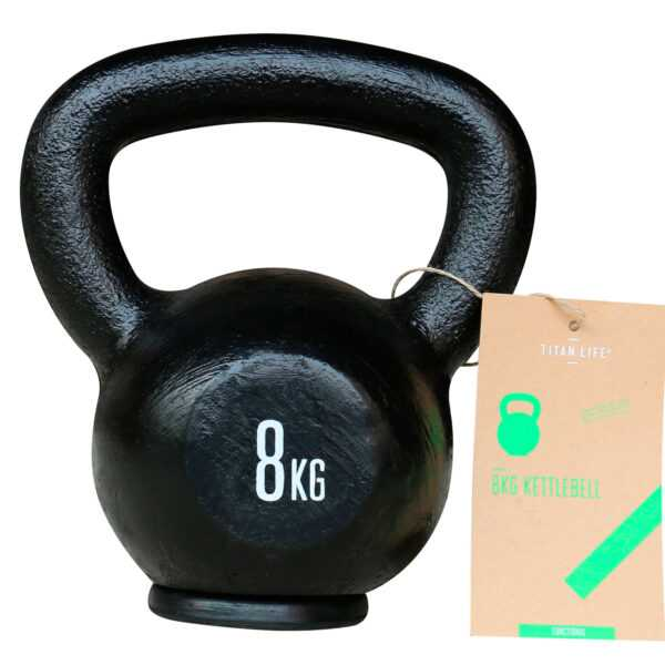 Titan Life Gym 8kg Kettlebell