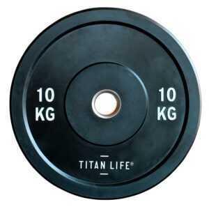 Titan Life Rubber Bumper Plate 10 kg Vægtskive