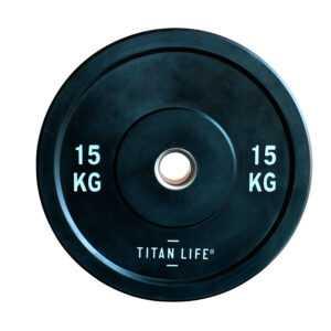 Titan Life Rubber Bumper Plate 15 kg Vægtskive