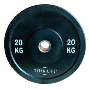 Titan Life Rubber Bumper Plate 20 kg Vægtskive