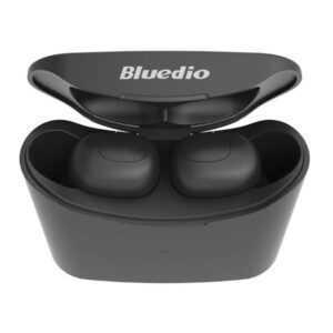 Bluedio T-elf TWS Earbuds Bluetooth 5.0 med opladningsboks.
