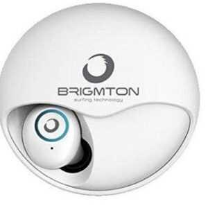 Brigmton Bml-17 - Trådløs In-ear Bluetooth Høretelefoner Med Mikrofon - Hvid