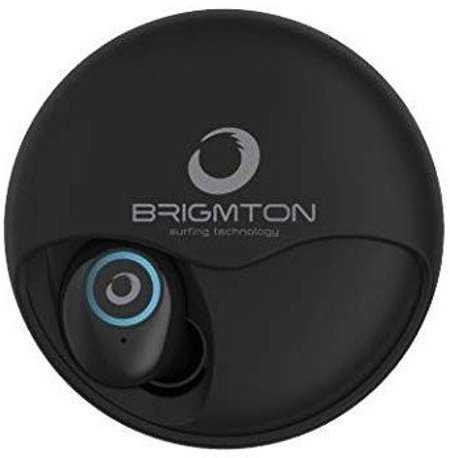 Brigmton Bml-17 - Trådløs In-ear Bluetooth Høretelefoner Med Mikrofon - Sort
