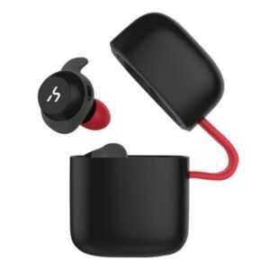 Havit G1 Bluetooth Earbuds med mikrofon. Sort/Rød.