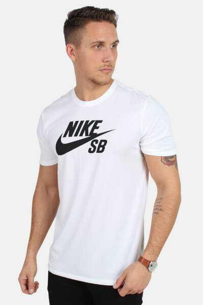 Nike SB 821946 Pl A Roul T-Shirt White
