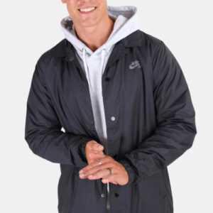 Nike SB Shield Coaches Jakke Black Cool Grey