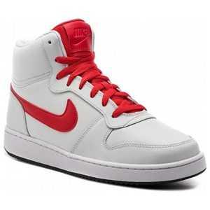 Basketballsko til voksne Nike Ebernon Mid Hvid Rød 47