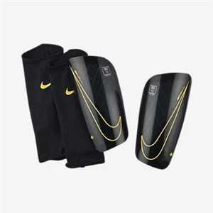 Benskinner til Fodbold Nike Merc LT GRD Sort L