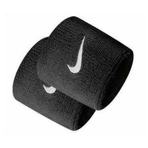 Håndledsstøtte til træning Nike WRISTBAND Sort