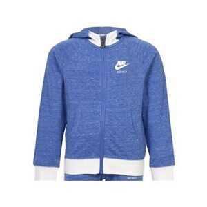 Hættetrøje til Børn Nike 842-B9A Blå Hvid 4-5 år