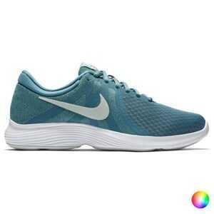 Løbesko til voksne Nike WMNS REVOLUTION 4 EU 10 Grå/Hvid