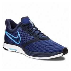 Løbesko til voksne Nike Zoom Strike Marineblå 45