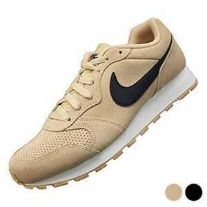 Mens Trainers Nike Md Runner 2 Suede 45 Sort/Hvid