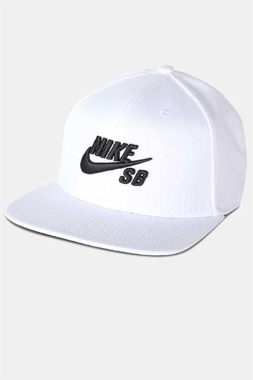 Nike SB Cap White/Black