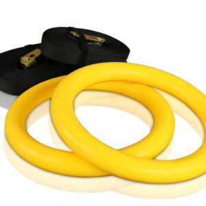cPro9 Crossfit ABS Gymnastikringe Plast - Gul