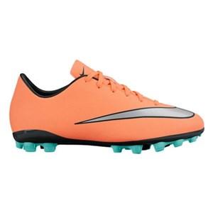 Fodboldstøvler til børn Nike JR Mercurial Victory V AG Orange 38.5 (EU) - 6Y (US)