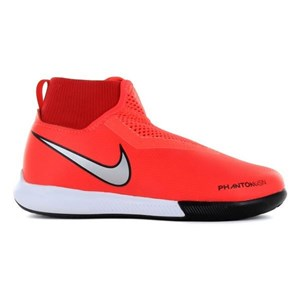 Indendørs fodboldstøvler til børn Nike JR Phantom Academy Orange 33,5