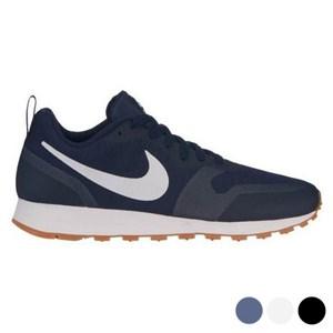 Unisex Kondisko Nike MD Runner 2 Hvid 45,5